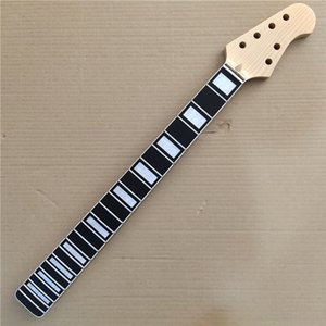Maple Electric Guitar neck Replacement 22 frets Rosewood Fingerboard Gloss 25.5 Inch