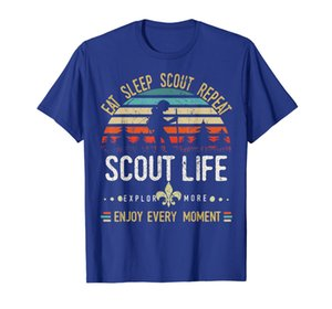 Eat Sleep Scout Repetir | Vintage Scouting Scout Life T-shirt