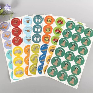 Factory price custom sticker waterproof round laminated self adhesive label printing Wholesale