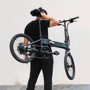 FIIDO D4S 10.4Ah 36V 250W 20 Inches Folding Fat Ebike Moped Bicycle 25km h Top Speed 80KM Mileage Electric Bike myyshop