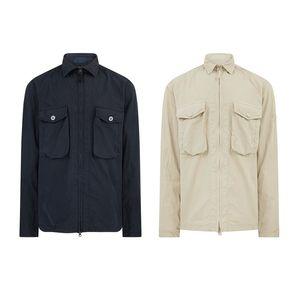 cp topstoney 2020 konng vonng 봄과 가을 새로운 유령 시리즈 포켓 풀오버 까마귀 자켓 패션 트렌디 셔츠와 까마귀