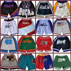 AtlantaHawk San Jersey AntonioSpurs Hawk ClevelandCaballerosPantalones cortos de baloncesto SpurJust Don Mitchell 00 ness bolsillos cortos