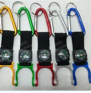 15 PCS Mucho carabiner acuario Hebilla al aire libre Gadgets Montañismo Hebilla con camases Senderismo Campang Envío rápido 399 x2