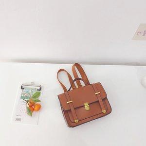INS Korean Australia Kids Handbags Backpacks PU Quality Boys Messenger Shoulders Bags Unisex Adjustable School Accessories 3302 Q2