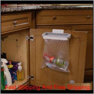 Kitchen Accessories Trash Bag Storage Rack Cupboard Kitchen Bathroom Hanging Holders Trash Toys Supplies Food C qylISp petsyard
