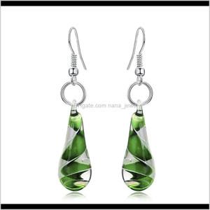 Murano Glass Earring Inspiration Baroque Art Lampwork Waterdrop Glazed Earrings Jewelry For Women Gift Long Dangle Earrings C6Jmc Xt3Dp