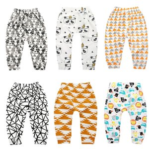Summer Kids Baby Legging Trousers Boy Girls PP Pants Cute Newborn Toddler Infant Anti-mosquito Pants Child Cartoon Cotton Underwear HH23VRYW