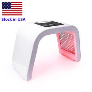 미국 PDT LED 7 컬러 라이트 테라피 기계 Photon LED 얼굴 마스크 피부 젊 어 짐 여드름 제거 광선 요법 램프 스파 사용