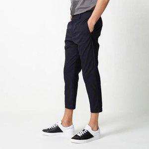 Bosideng Men Office Style Work Wear Summer delgado de alta calidad Pantalones de negocios Nuevo B80926159