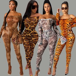 Zkyzwx Fall Money Snake Print 2 Piece Set for Women Rave Festival Clothing Sexy Strapless Flare Sleeve Tops+pants Outfits Suits