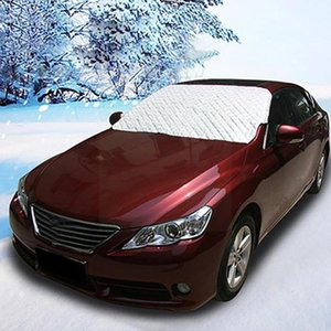 Car Sunshade Universal Snowwindshield Cover Magnetic Windshield For Suv Shade Thicker U2c6