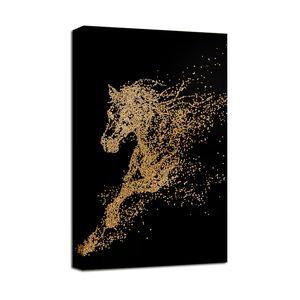 Высокая четкости печатание настенные искусства роспись спальни гостиная декоративная роспись абстрактная роспись лошади напечатана на холсте