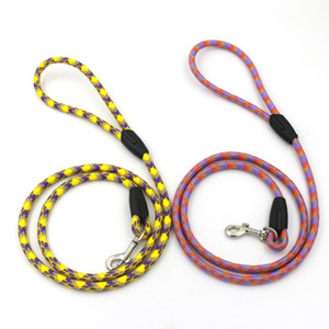 Yeni Pet Köpek Tasma Yavru Köpek Tasma Yürüyüş Eğitim Kurşun Tasmalar Küçük Köpekler için Kediler Tasmalar Kemer Uzun Köpek KKE4838
