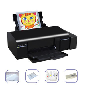 lxhcoody For L1800 Printer A3 Size DTF Printer Set PET Film T-shirt DTF Transfer Printing Machine For Any Material