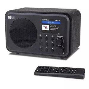 Rádio Digital Portátil de Radios Wi-Fi Hot Wr-336n com bateria recarregável, receptor Bluetooth