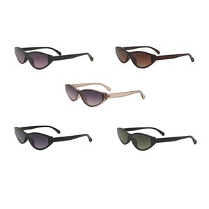Новые моды солнцезащитные очки дизайнерские очки мужские солнцезащитные очки мужские моды солнцезащитные очки женщины мужчина UV400 водонепроницаемый фиолетовый пилот глаз 3709