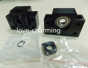 1pc BK10 and 1pc BF10 Ballscrew end support BK BF bearing blocks
