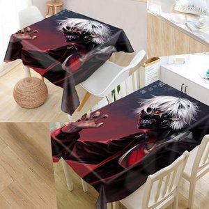 Table Cloth Kaneki Ken Tokyo Ghoul Tablecloth Modern Dustproof High Quality Print Forest Everything For Home And Kitchen 0622