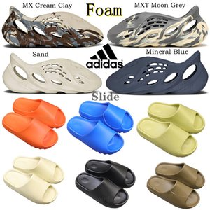 adidas yeezy yeezys yezzys yezzy slides kanye west Sandal slippers Foam Runner Summer Desert Mineral Blue Moon Gray Triple Bone Cream Clay MXT Grey Ararat resin Brown
