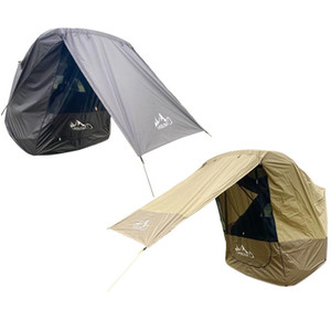 Laduta سيارة جذع خيمة ظلة ماء الخياطة الظل الظل المظلة خيمة للسيارة جولة القيادة الذاتي الشواء التخييم في الهواء الطلق