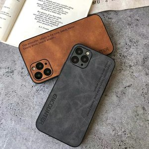 2021ZZA Suede Leather Designer Case iPhone12 Mini Proma X 11 XS Pro XS Max XR 8 7 Plus Haute