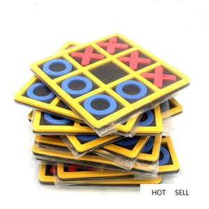 Parent-Child Interaction Leisure Board Game OX Chess Funny Developing Intelligent Educational Toys Puzzles Game Kids Gift