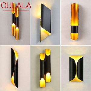 Wall Lamps OULALA Nordic Simple Sconces Light Modern LED Lamp Fixtures For Home Corridor Stairs Decoration