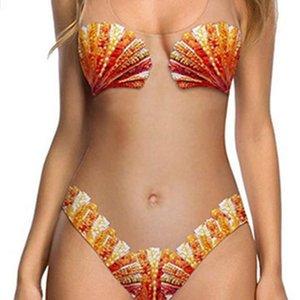 Vücut Şekillendirici Kavun Meyve Kabuk Cilt Renk kadın Tek Parça Seksi Bikini Ananas Mayo