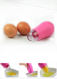 1pc Tools Cooking Tools Vitellus Egg Separator Strumenti Separatore bianco Egg Yolk Gel Divisori Aspirazione Cucinare uova Master cucina LB 256 S2