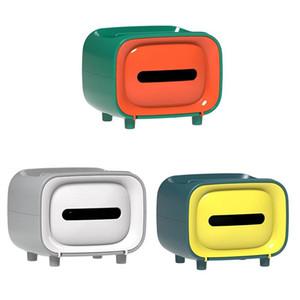 TV Shape Toilette Toile de toilette Supports de stockage Toile de salle de bain Carte de toilette Boîte de toilette Type de toilette Boîte de rangement