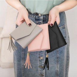 Money Storage Bag Womens Cute Wallets Pocket Purse Card Holder Patchwork Wallet Lady Female Fashion Short Coin Burse Money Bag