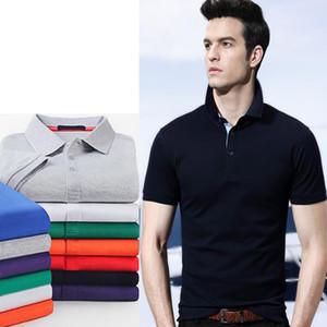 Высокое качество Поло рубашка Мужчины для мужской повседневной одежды бизнес мужской дышащий мода Poloshirt 2021 летние женщины Polos S-5XL