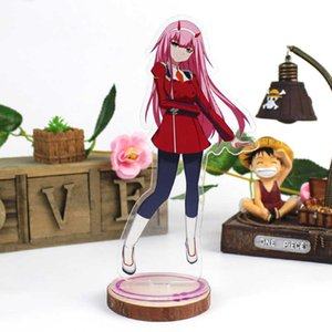 DARLING in the FRANXX Acrylic Stand Model Toys ZERO TWO 002 Anime Acrylic Stand Figure Decoration Toys Cosplay Action Figure DIY Q0622