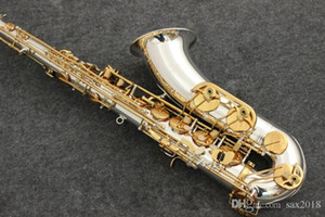 New Tenor Sax Yanagisawa T-9930 Tenor Saxophone Musical Instruments Bb Tone Nickel Silver Plated Tube Gold Key Sax With Case Mouthpiec