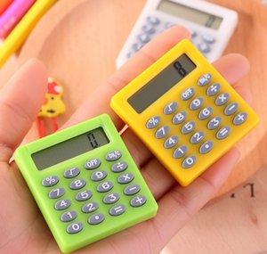 Süße Studententasche 8 Digital Mini Elektronischer Rechner Süßigkeiten 5 Farben Berechnung Münzbatterien Rechner Bürobedarf Geschenk