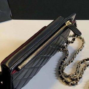 Hot Melhor Qualidade Genuinel Leather Mens Carteira com Caixa Luxurys Designers Carteira Womens Wallet Purese Cartão de Crédito Holder Passport 160