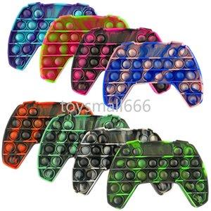Rainbow Push Bubble Fidget Sensory Toy for Autisim Special Needs Anti-stress Game Stress Relief Squishy Fidget Toys