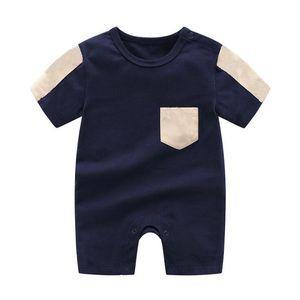 2021 الصيف جديد ملابس الاطفال الأزياء الوليد ملابس الطفل للجنسين القطن الوليد طفل رضيع بوي فتاة رومبير الرضع الأطفال الملابس