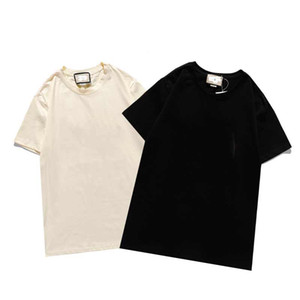 Moda Fortops Mektup Nakış T Gömlek Erkek Bayan Giyim Kısa Kollu Tshirt Erkekler Tees B2