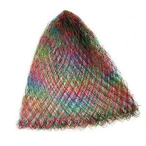 Forte diâmetro 40 cm-80cm pousando rede de cabeça nylon rede pesca de pesca engrenagem ao ar livre turck dipneting acessórios de peixe
