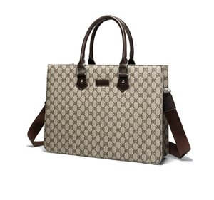 Women luxurys Bags Designer Large Capacity Tote Leather One-Shoulder Handbags Men Briefcases