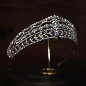 FIDDY898 Headpiece de mariée de mariage 2021 Mariée Cheveux Bijoux ToCado Novia Princess Pageant Engagement Queen Couronnes