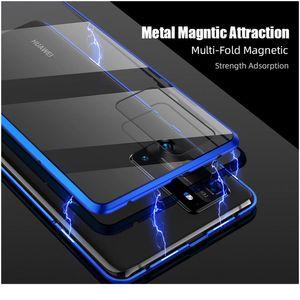 360 Full Magnetic Adsorption Metal Case для Huawei P40 30 20 PRO MATE 30 20 P20 P30 P40 LITE E DOUB JLLLGH
