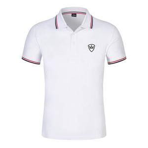2021 Tasarımcı Yeni erkek Yaz Spor Rahat Erkek Moda Baskılı Polo Gömlek Erkek Sokak Rahat Iş Kısa Kollu Pamuk Yaka Ceket