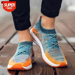 Fashion Designer Sneakers Men Shoes Mesh Beathable Men Casual Shoes Slip On Summer Male Sneaker Trainers Plus Size 46 #ff2L