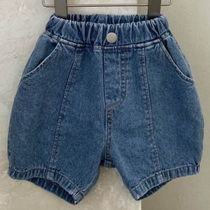 Boys Shorts Children Jean Girls Clothes Clothing Children's Pants Summer Fashion Wash Jeans Casual B6528