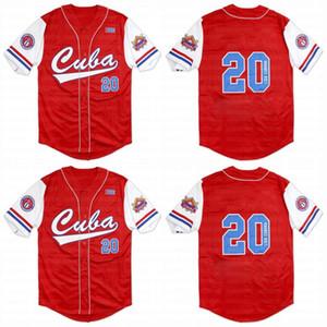 Big Boy Cuba Latin Legacy S2 Custom Nlbm Nero Jersey Jersey Jersey Stichée Nom Stichée Numéro Expédition rapide