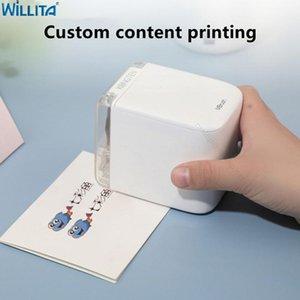 Printers Inkjet Printer Wifi Customized Code Mbrush Mobile Color Mini Android Wireless Handheld Logo Tattoo Tatto