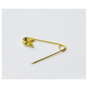 Gold Metal Safety Pin Locking Baby Cloth Nappy Diaper Craft Pins Needl jllefp carshop2006