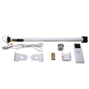 Blinds Mayitr AC 100-240V Electric Roller Shade Motor Tubular Remote Control Curtain Home Decor